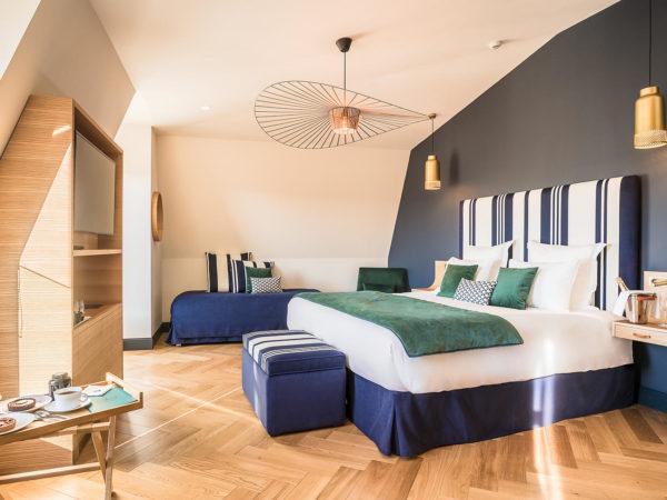 Madison saint jean de luz Hôtel quatre étoiles deluxe room 3