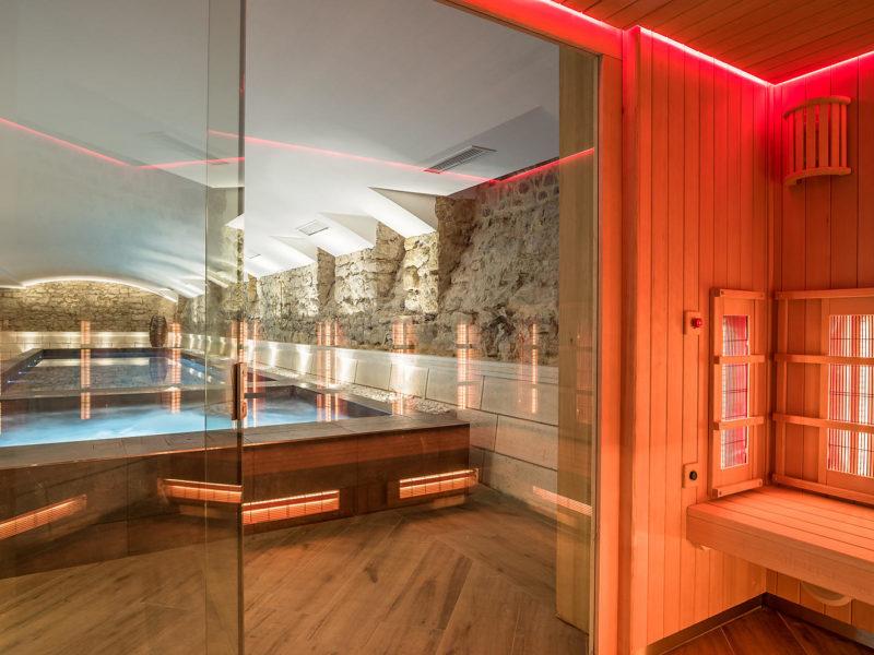 Madison saint jean de luz Hôtel quatre étoiles espace spa sauna