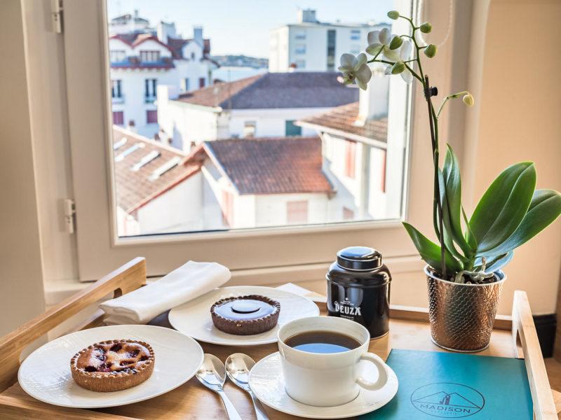 Madison saint jean de luz Hôtel quatre étoiles tea time
